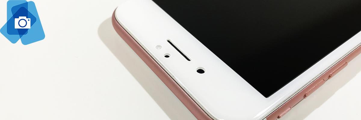 3D Tvrzené sklo iPhone 6,6s,7,8 Classic Bílé - 2