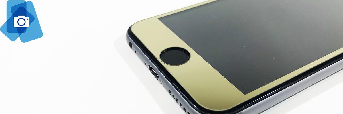 Oboustranné barevné Tvrzené sklo iPhone 6,6s