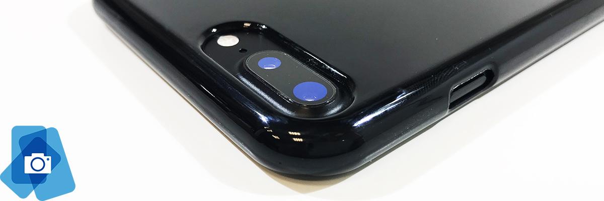 Pevný Gumový kryt pro iPhone 7, iPhone 8 - Plus - Fotoaparát