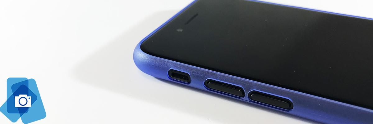 Ultratenké Plastové Pouzdro iPhone 7 a 8 - Ohraničení displeje
