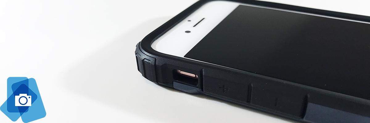 Vysoce odolné pouzdro iPhone 7 a 8 - Ohraničení displeje