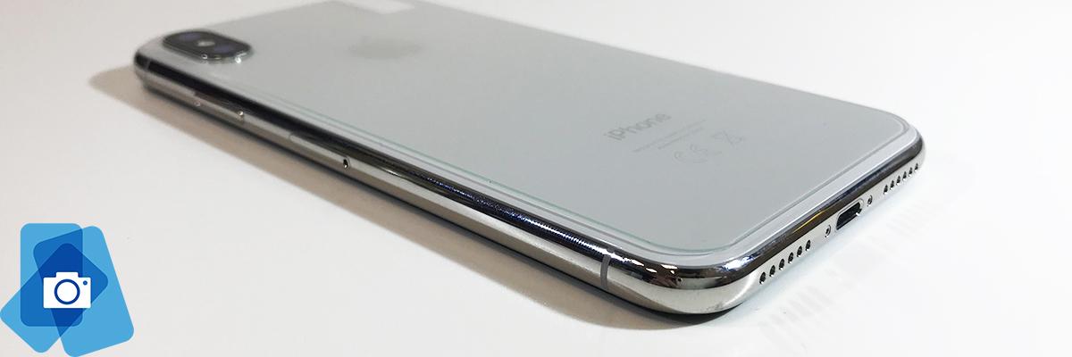 Zadní Tvrzené sklo iPhone X - Dolní roh f4916572369